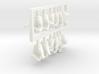 FB01-HandPack-01 7inch 3d printed