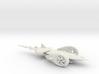 SolarJet flying car - Concept Design Quest 3d printed