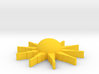 Sunburstpin 3d printed