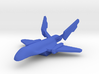 Alliance Attack Craft 3d printed
