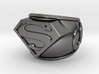 Superman Ring 24mm 3d printed
