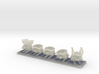 TA Construction Kbot Squad - 1cm tall 3d printed