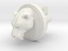 Smilodon Head Cufflink 3d printed