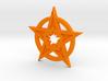 Keychain Star 3d printed