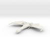 1/2500 QuD (Insurrection) Frigate - Attack mode 2 3d printed