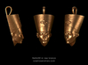 Nefertiti necklace pendant 3d printed