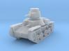 PV48D Type 95 Ha Go Light Tank (1/87) 3d printed