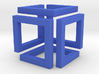 Loopcube Pendant 3d printed