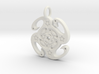 swirls 3d printed