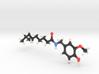 Capsaicin Molecule Model 3d printed