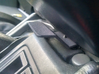 Extended Armrest Latch, Subaru Impreza 1993 - 2001 3d printed Latch made from Black Strong & Flexible and installed on armrest