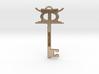 kujichagulia key pendant 3d printed