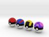 Pokeballs (Set 01) 3d printed