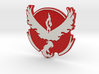 Pokemon Go - Team Valor Badge 1 3d printed
