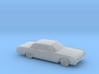 1/120 1962 Lincoln Continental Sedan 3d printed