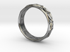 Cut Facets Ring Sz. 6.5 3d printed