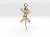 Gecko Luck Earring 3d printed