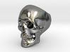 Heavy Skull Ring 3d printed