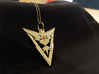Team Instinct Pendant - Pokemon Go - Zapdos 3d printed Chain not included