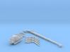1:50 Mini Crawler Crane Set B kit 3d printed