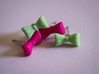 Itty Bitty Bow Studs 3d printed