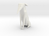 Folded Sculpture Dogs, Italian Greyhound 3d printed