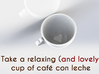 Lovely Coffee 3d printed Relaxing cup