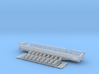 Scenic Flat Car Z Scale 3d printed 50ft Scenic tour Flat car Z scale