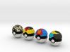Pokeballs (Set 02) 3d printed