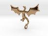 Dragon Pendant 3d printed Dragon Pendant (different materials have different prices)