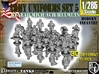 1-285 Army Modern Uniforms Set5 3d printed