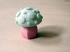 Toadstool 3d printed Hand-dyed white strong & flexible toadstool