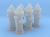 Hydrant type A 1:43 ( 0 scale ) 6 Pcs 3d printed