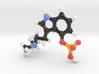 Psilocybin Molecule Model 3d printed