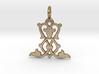 Nature No.2 3d printed Nature No.2 Pendant (different materials have different prices)