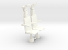 1/18 COCKPIT NAVIGATOR SEATS 3d printed