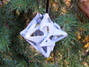 Pinwheel Die6 Ornament 3d printed In Alumide