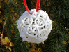 Thorn d20 Ornament 3d printed In White Strong & Flexible