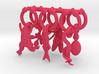 Model Organism Wine Charm Set 3d printed