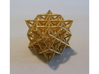 """Flower Of Life 64 Tetrahedron Grid 1.2"""" 3d printed"""