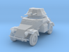 PV133C Sdkfz 222 Armored Car (1/87) 3d printed