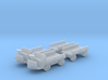 1:160 N scale electric trolley Stal 258 with trail 3d printed