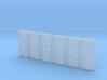 Door Type 5 HO Scale X 6 3d printed