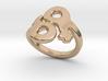 Saffo Ring 23 – Italian Size 23 3d printed