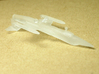 1/350 F-104 Starfighter with Gear Down 3d printed Bottom view showing landing gear down.