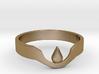 Suspended Teardrop Ring 3d printed