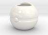 Pokeball Mug (4in diameter) 3d printed
