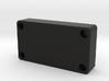 Custom Fiero Blanking Plate 3d printed