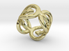 Coming Out Ring 33 – Italian Size 33 3d printed