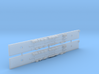 NCC1 - Comeng M Car Chassis Set - N Scale 3d printed